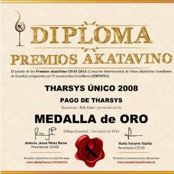 Premio para Bobal de Pago de Tharsys en Blanc de Noir